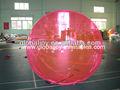 Agua caminando globo/pelotas inflables persona dentro de/bola del zorb agua