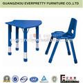 ergonómica ajustable niños muebles mesa de estudio y sillas para niños