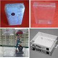 Plástico PET caja clara, caja de embalaje del animal doméstico