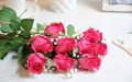 venta al por mayor adornos de flores de tela