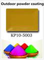 Acabado de metal pintura en polvo metálico kl10-5003