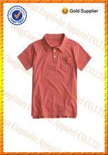 Niño niños 100% pk de algodón pique split dobladillo de polo de manga corta t- shirt/los niños japoneses ropa/prendas de vestir