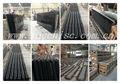 suministro de agua caliente vender prefabricada negro absoluto granito tapa de la mesa