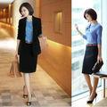 2014 la nueva moda de las señoras de diseño uniforme