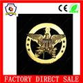 De oro personalizado hexagrama divisa de recuerdo para la recuperación fugitivo( hh- badge- 331)