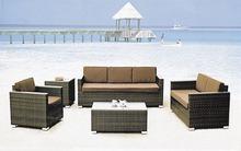 sintético sofá de vime mobiliário