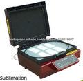 Máquina de impressão por sublimação 3d sublimação para diferentes materiais em branco