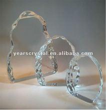 La llegada de cristal en blanco para iceburg iceberg de cristal hogar decoration(r- 1168