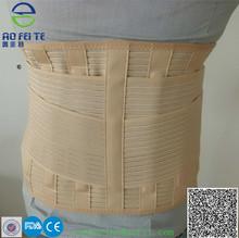 2014 Nuevo! Neopreno cinturón de soporte lumbar con barras verticales de acero 4