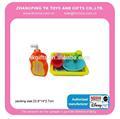nuevos productos de juguete de cocina fregadero de lavado set up para juego de mini niño bebé de juguete
