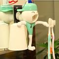 manualidades para regalar Dispensador de pasta de dientes divertido Auto