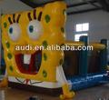 Bob Esponja castillo inflable
