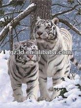 venta al por mayor lenticulares animales de impresión de la pintura