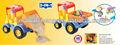 3d cerebros bloque de construcción conjunto, coche camión bloque de construcción de ladrillo del coche del coche
