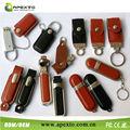 A la venta! Una gran diversidad de cuero flash drives a granel barato precio manufactur