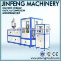 24- cavidad llena automático hidráulico de compresión de plástico de la máquina de moldeo para tapa de la botella
