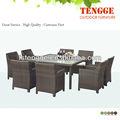 Muebles de ratán sintético mesa& sillas