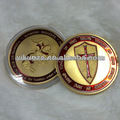 Knight cross coin with paint coin