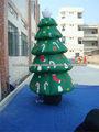 grande inflable decoraciones de Navidad inflable del pvc del árbol de navidad