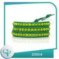 [TTT bijoux] des pierres à la main 2014 de mode en gros jewlery semi-précieuses bracelet de jade vert