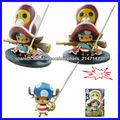(Acepte paypal) 10cm lindo tony chopper capitán de una pieza del anime japonés de dibujos animados de plástico gente figura surt