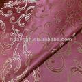 rojo tira de la cortina de diseño al por mayor para el hogar decoración de tela