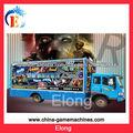 móvil 5d cine camión, el cine 5D simulador