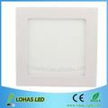 2013 precio de fábrica 12w 60 piezas cuadradas panel led de luz de alta 880lm lumen 2835 chip bares aplique de pared lampara