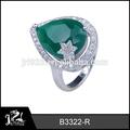jrl zirconia anillos de diseño con las gemas de la fábrica directamente la venta