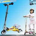 Cola doble de bicicletas specialized con 3 ruedas bastante intermitente