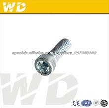 DIN912 grade12.9 hexagonal tornillos de cabeza hueca