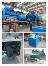 Henan Haciendo Empresa de Residuos de pirólisis de neumáticos de desecho de aceite de la máquina