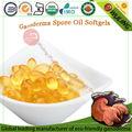 orgânica cogumelo de lingzhi spore cápsula de óleo