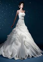 elegante 2014 alibaba de tul vestido de novia