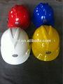 V- la guardia de seguridad msa casco de fábrica, pe de plástico tapas de seguridad proveedor