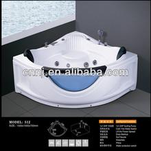 (512) verre salle de bain baignoire de massage du sexe