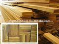 Madera de teca de tableros de ancho, madera aserrada