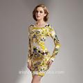 la impresión de niza de quinceañera vestidos con mangas de tienda de vestidos de noche tiempo