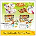 2014 de plástico caliente utensilios de cocina con la música para niños juguetes oc0162200