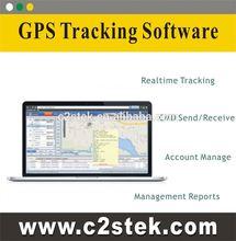 el software de gps sistema de seguimiento gps