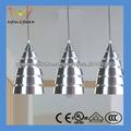 lámpara de techo de aluminio de la venta caliente