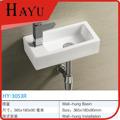 HY-3053L pared colgado cuarto de baño lavamanos pequeños