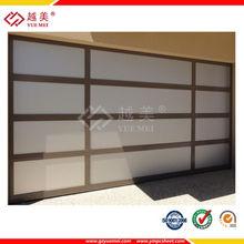 planchas de de policarbonato párrafo invernaderos plana blanco paneles de policarbonato para la hoja de la ventana y la puerta