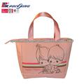 Moda famoso diseñador de bolsos de color rosa para las damas( pk- 11077)