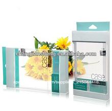 2014 personalizado de pvc transparente de plástico contenedor