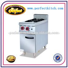 Quemadores de gas/de acero inoxidable de gas para cocinar con rango 2- quemador
