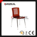 Orizeal silla de madera curvada