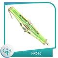 [HX020] Presentes Infinito Liga Anchor Pulseira Angel wing Charm Bracelet coreano cera Cords [TTT Jóias]
