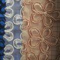Textiles fabric material para producir calzado o sandalias de damas