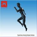 Todo el cuerpo realista corriendo maniquí femenino deportes
